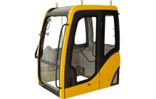 Mini excavator cab