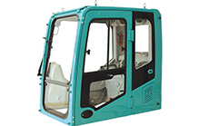 Medium and large excavator cab