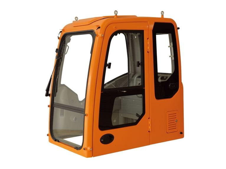 挖掘机驾驶室的特点以及洗保养如何进行?