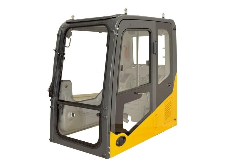 工程机械驾驶室应对驾驶员提供便利的工作条件