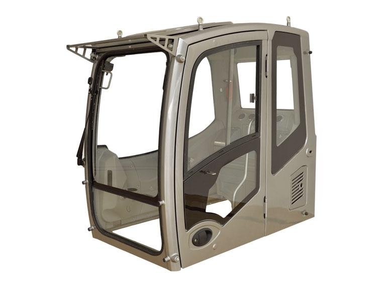 挖掘机驾驶室车内各部位材质不同保养的方法也不同
